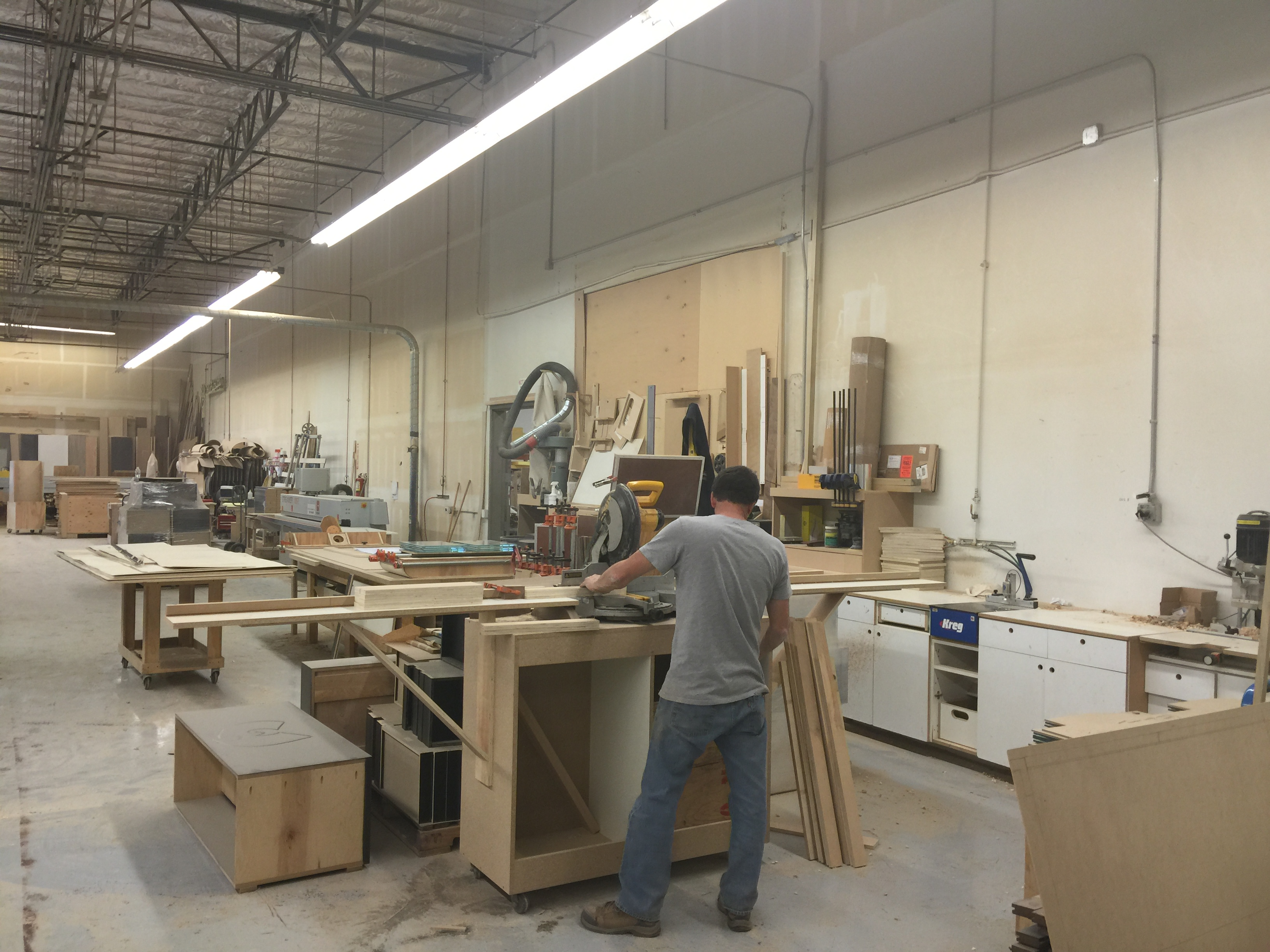 Amc Millwork Shop Austin General Contracting Nevada
