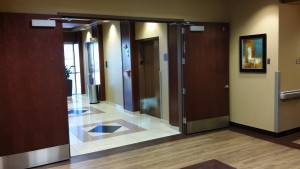 Lobby Pair of Doors